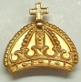 CODE 7/216 CROWN FOR MALTA CAP BADGE