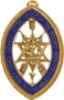 CODE 13/214J GRAND OFFICERS OF GRAND COUNCIL JEWEL FOR COLLARETT