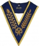 CODE 2/111 COLLAR - BULLION EMBROIDED - NO JEWEL