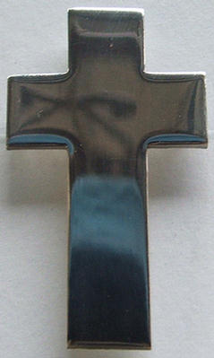 7/324 Cap badge -Passion Cross