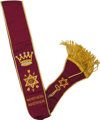 Code 13/114 OSM SASH - GRAND OFFICER - NORTHERN AUSTRALIA
