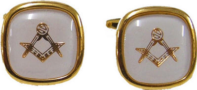 Code N/WHITEL - CUFF LINKS - WHITE