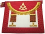 CODE 1/112WM SCOTTISH WOR. MASTER APRON - LAMBSKIN