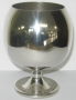 0696/3 Pewter Goblet/ Brandy Ballon