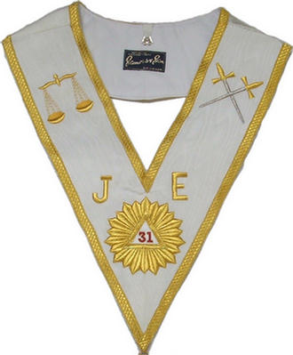 Code 19/301MMC - COLLAR 31 DEGREE - Machine Embroidered
