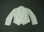 CODE 1/293 - WHITE MESS JACKET (with pocket)