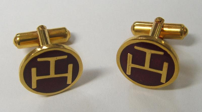 Code 4/241 - ROYAL ARCH CHAPTER - CUFF LINKS