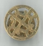 4R15mmTieTack / Lapel Pin 9ct yellow gold