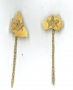 1/401AUS or 1/401QLD Hand Made gilt stick pins
