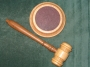 CODE 1/247B BARREL GAVEL - WOODEN (GAVEL ONLY)