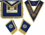 CODE 2/110N GRAND LODGE APRON, COLLAR & GAUNTLETS