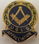 CODE 40/251 APPRECIATION BADGE U.G.L.Q.