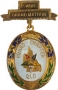 CODE 16/244M - PAST MATRON JEWEL - GRAND CHAPTER - METAL GILT