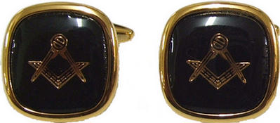 Code N/BLACKL - CUFF LINKS BLACK per pair
