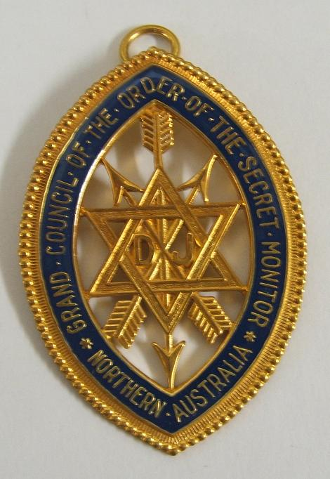 Code 13/116J - QLD OSM COLLARETTE JEWEL - GRAND OFFICER