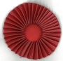 1/143R SCARLET RED ROSETTE FOR SASH