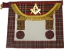 CODE 1/103 SCOTTISH MASTER MASON APRON - ROYAL STEWART