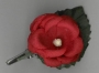 18/123S SILK ROSE WITH CLIP approx 30mm