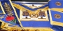 CODE 2/131ME GRAND LODGE APRON, COLLAR & GAUNTLETS